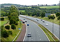SD7329 : M65 motorway towards junction 7 by Mat Fascione