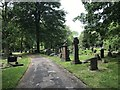 SJ8645 : Stoke (Hartshill) Cemetery (11) by Jonathan Hutchins