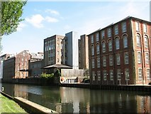 TG2407 : The River Wensum past the Carrow Works site by Evelyn Simak