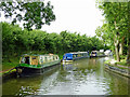 SP5366 : Oxford Canal moorings at Braunston in Northamptonshire by Roger  Kidd