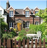 TG2407 : The Railway Cottages - 10 Cozens Road by Evelyn Simak