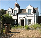 TG2407 : The Railway Cottages - 6 Cozens Road by Evelyn Simak
