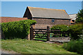SK8693 : Farm buildings at Gilby near Pilham by Ian S