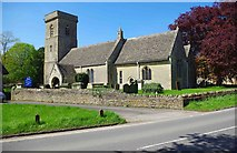 SP2907 : Church of St. Britius, Station Road, Brize Norton, Oxon by P L Chadwick