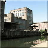 TG2407 : Industrial building on the Carrow Works site by Evelyn Simak