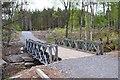 NH4558 : Bailey bridge in Torrachilty Forest by Jim Barton