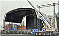 J3575 : BBC stage, Titanic Quarter, Belfast - May 2018(2) by Albert Bridge