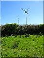 SW9962 : Wind Turbine by Anne Burgess