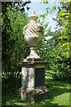 SO8844 : Restored urn in the Home Shrubbery by Philip Halling