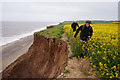 TA2638 : Erosion at Aldbrough Cliffs, Holderness by Ian S