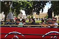 TQ3079 : Parliament Square beyond an open-topped London bus by Robin Stott