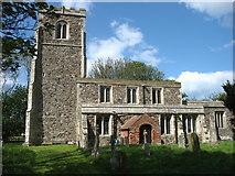TA3719 : St Helen's church, Skeffling by David Purchase