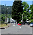 ST2291 : Waunfawr Park Road traffic calming, Crosskeys by Jaggery
