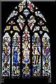 SJ5658 : Bunbury, St. Boniface's Church: Stained glass window 1 by Michael Garlick