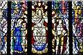 SJ5658 : Bunbury, St. Boniface's Church: Stained glass window 1 (detail) by Michael Garlick