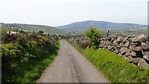 J1018 : View West from the summit of Upper Ferryhill Road by Eric Jones