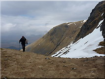 NN3239 : More or less at the bealach by Richard Law