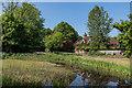 TQ2756 : Elmore Pond by Ian Capper