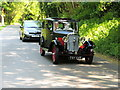 H1758 : Vintage car, Castle Archdale by Kenneth  Allen