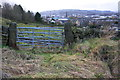SE0741 : Field gate on west side of Thwaites Brow Road by Roger Templeman