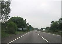 SK8836 : A1 northbound by Alex McGregor