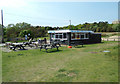 TM4762 : Sizewell Beach Refreshment Cafe by Geographer