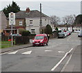 ST2894 : Waun Road speed bump and speed bump sign, Cwmbran by Jaggery