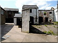 H4472 : Outbuildings, Georges Street, Omagh by Kenneth  Allen