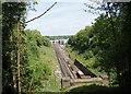 TQ3224 : Railway approaching Haywards Heath by Bill Boaden