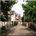 TG2308 : Old dwellings in Hook's Walk by Evelyn Simak