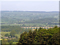 SE2645 : Distant view of Arthington Viaduct by Stephen Craven