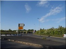 TL3059 : Roundabout on the Caxton Bypass by David Howard