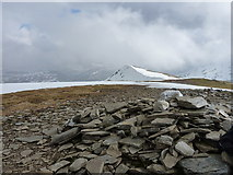 NN3340 : Sunshine catches the 993m summit of Dothaidh by Richard Law
