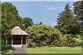 SU8612 : Shelter, West Dean Gardens by Ian Capper