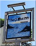 SX2553 : The Globe Inn name sign, Looe by Jaggery