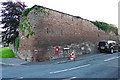 NY4053 : An old wall at Blackwell by Rose and Trev Clough
