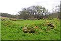 NG7016 : Ruins at Kinloch by Ian Taylor