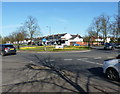 SP1080 : Roundabout in Yardley Wood by Richard Law