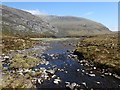 NC4432 : The Allt an Tireidh Flowing from Loch a' Ghorm-choire by Chris and Meg Mellish