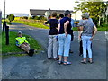 H4479 : First Omagh Walking Group takes a break by Kenneth  Allen