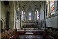 SE9276 : Chancel, St Andrew's church, East Heslerton by J.Hannan