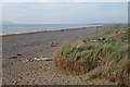 NY0742 : Beach at Allonby by Anne Burgess