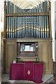 SE9276 : Organ, St Andrew's church, East Heslerton by Julian P Guffogg