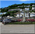 SX2553 : Grade II listed Looe War Memorial by Jaggery