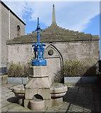 NJ9967 : Temperance fountain, Fraserburgh by Bill Harrison