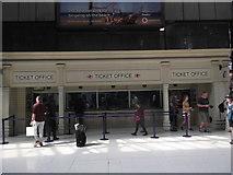 TQ2782 : Ticket Office, Marylebone Station by Robin Sones