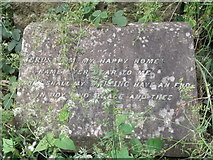 TQ3386 : Tombstone, Abney Park Cemetery, Stoke Newington High Street N16 by Robin Sones