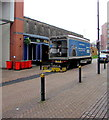 ST3088 : Wetherspoon lorry, Cambrian Road, Newport by Jaggery