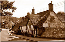 ST7693 : The Ram Inn (closed), Wotton Under Edge, Gloucestershire 2015 by Ray Bird