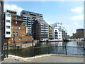 TQ3779 : Part of Milwall Dock by Des Blenkinsopp